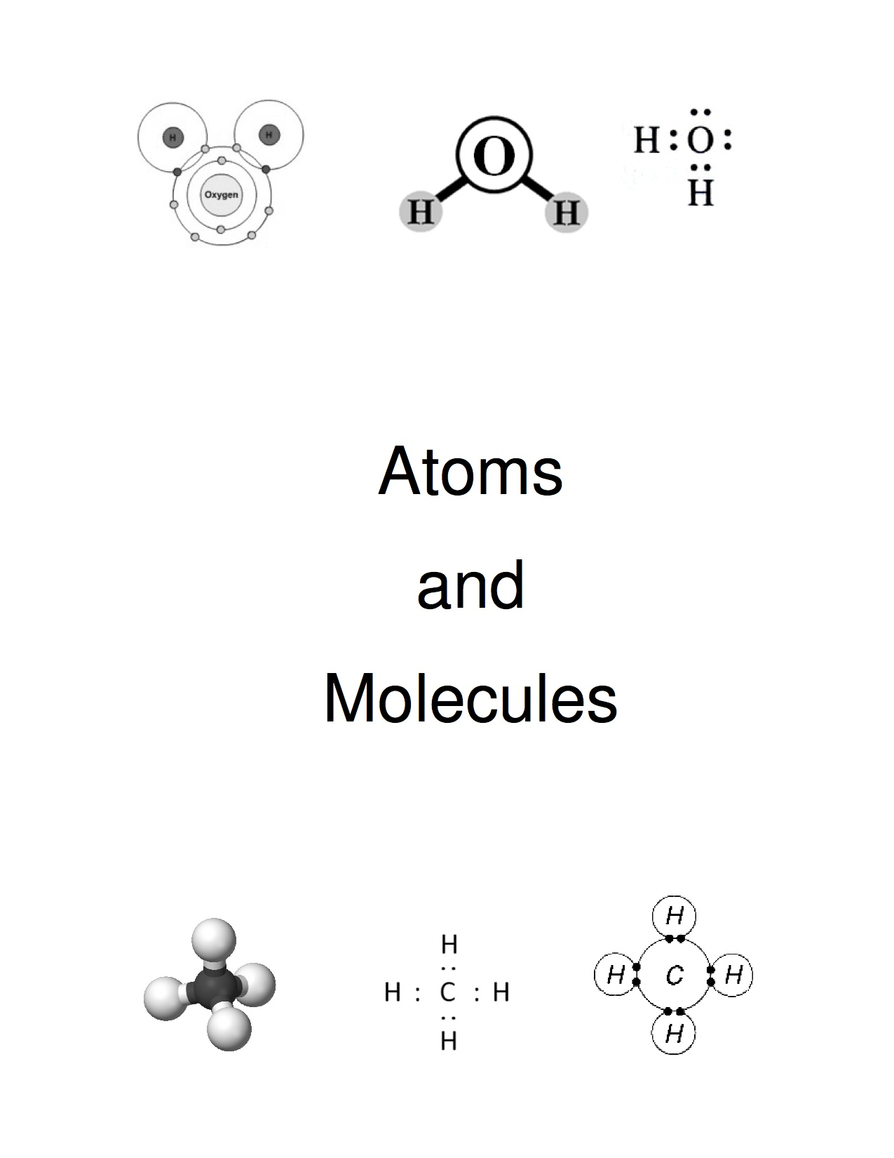 Atoms and Molecules Cover