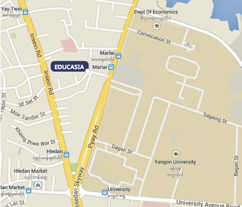 Educasia's Location on a Map