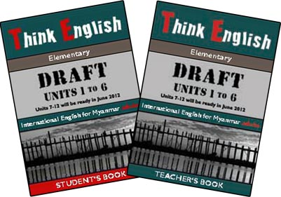 Think English elementary English Student's Book and Teacher's Book Covers